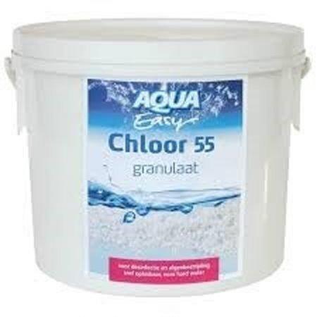 aqua easy chloor 55 granulaat